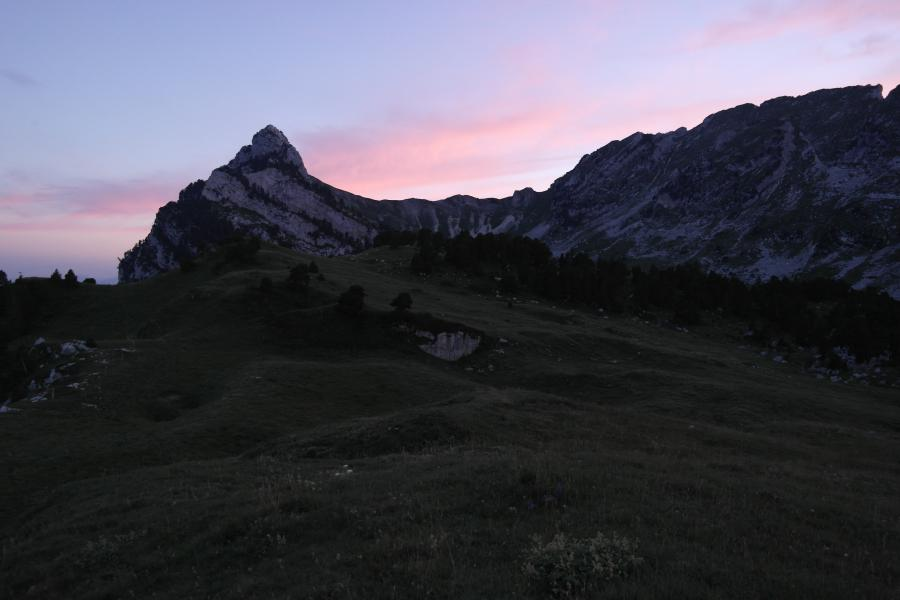 Col de Bellefond by night