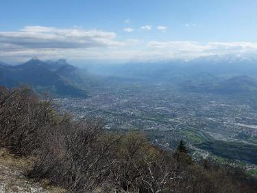 Grenoble sans brume de pollution !?!?