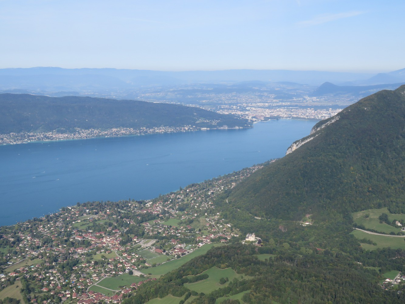 Vers Annecy